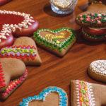 Glasuuriga kaunistatud piparkoogid