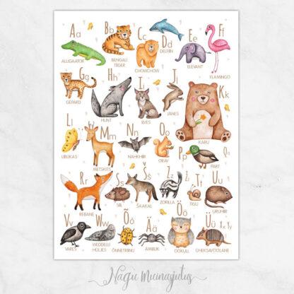 Loomade tähestik 2