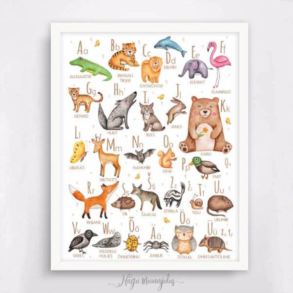 Loomade tähestik 3