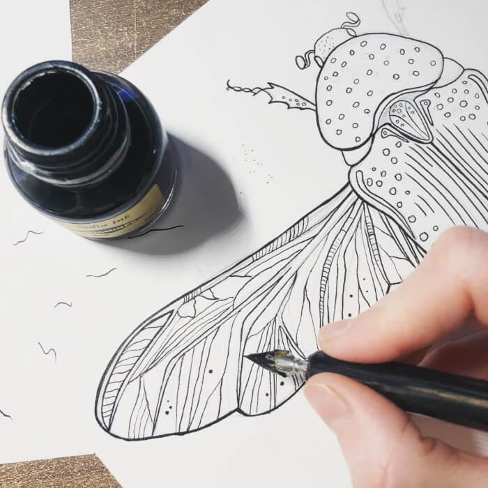 nagu muinasjutus putukas sulg tint