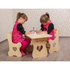 nukukodu lastelaud ja toolid