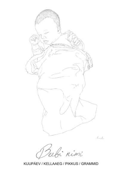 Magav beebi ja graafiline joonistus sellest
