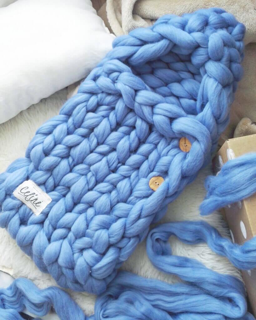 sinine beebi soojakott