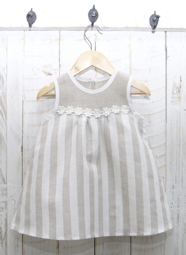 Linane kleit lapsele