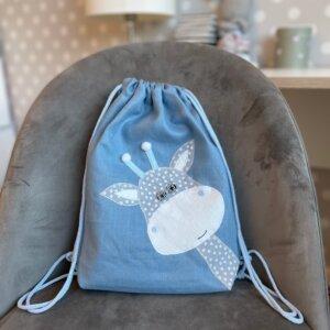 sinine kott kaelkirjakuga