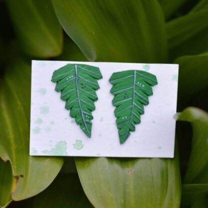 keskmised kõrvarõngad rohelised