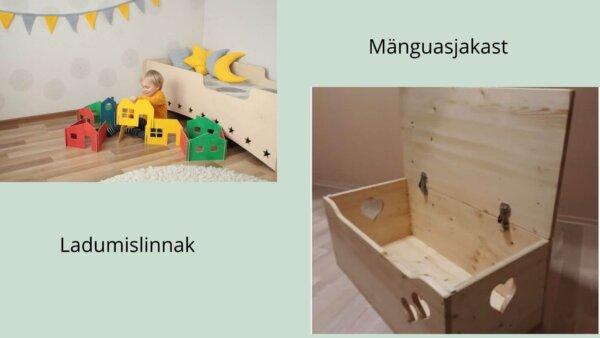 Ladumislinnak ja mänguasjakast 1
