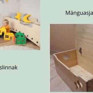 Ladumislinnak ja mänguasjakast