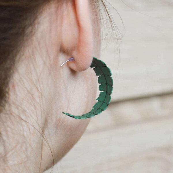 Suured ümarad kõrvarõngad 1