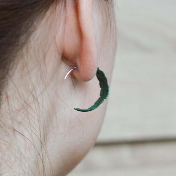 väikesed ümarad kõrvarõngad