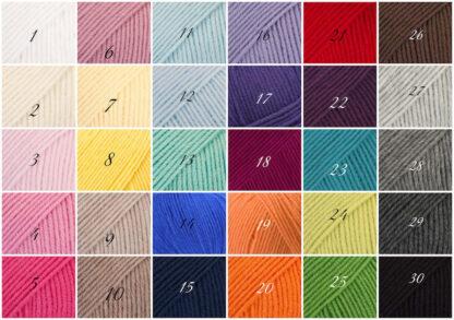 Lõngade värvikaart