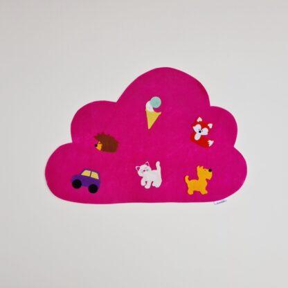 Roosa pilveke