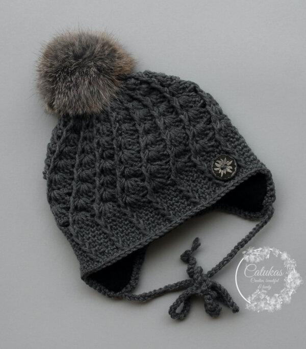 Tumehall müts