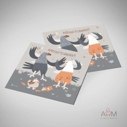 Postkaart Pesamuna