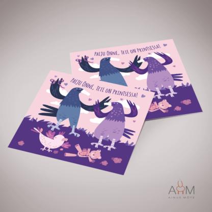 Postkaart printsessa