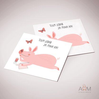 Postkaart tolm lebab