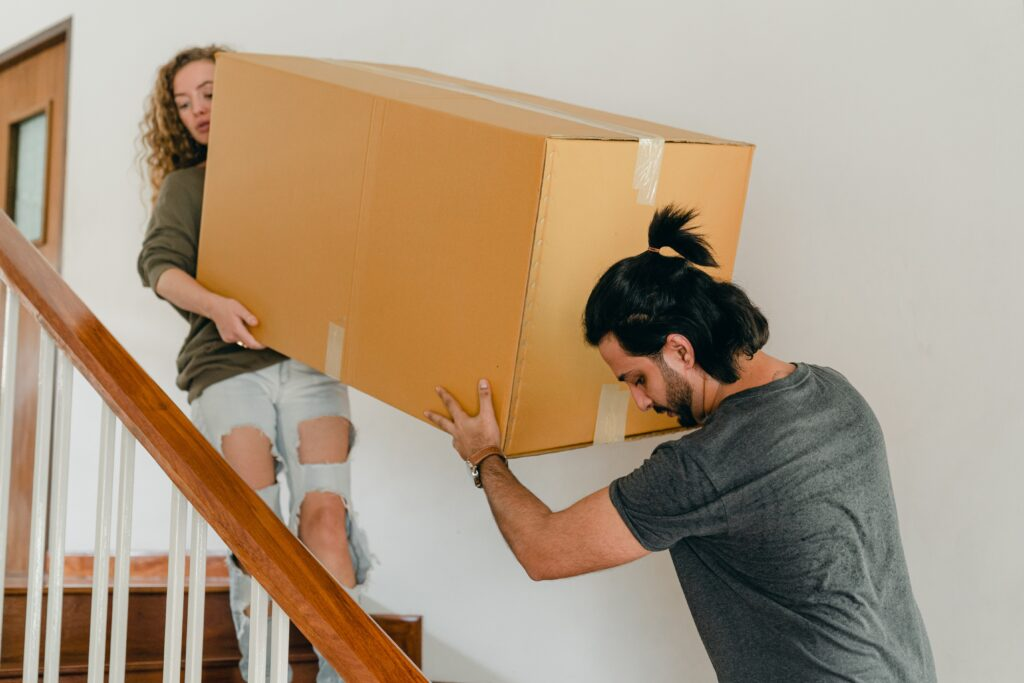 karbi trepist üles viimine
