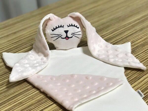 """Kaisurätt """"Jänku"""" roosa"""