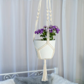 Lillepotihoidja valge